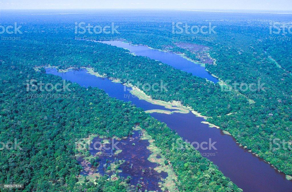 Rio Amazonas - foto de acervo