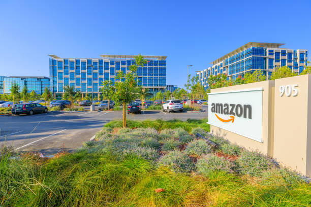 Amazon Sunnyvale California stock photo