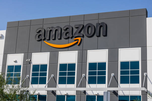 Amazon.com Fulfillment Center. Amazon is the Largest Internet-Based Retailer in the United States IV stock photo