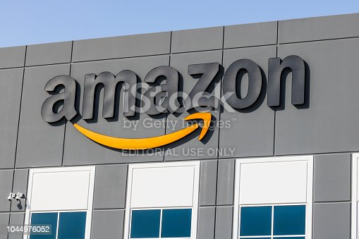 Las Vegas - Circa July 2017: Amazon.com Fulfillment Center. Amazon is the Largest Internet-Based Retailer in the United States V