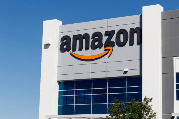 Amazon.com Fulfillment Center. Amazon is the Largest Internet-Based Retailer in the United States stock photo