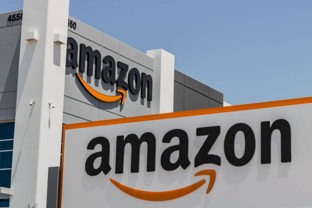 Amazon.com Fulfillment Center. Amazon is the Largest Internet-Based Retailer in the United States II stock photo