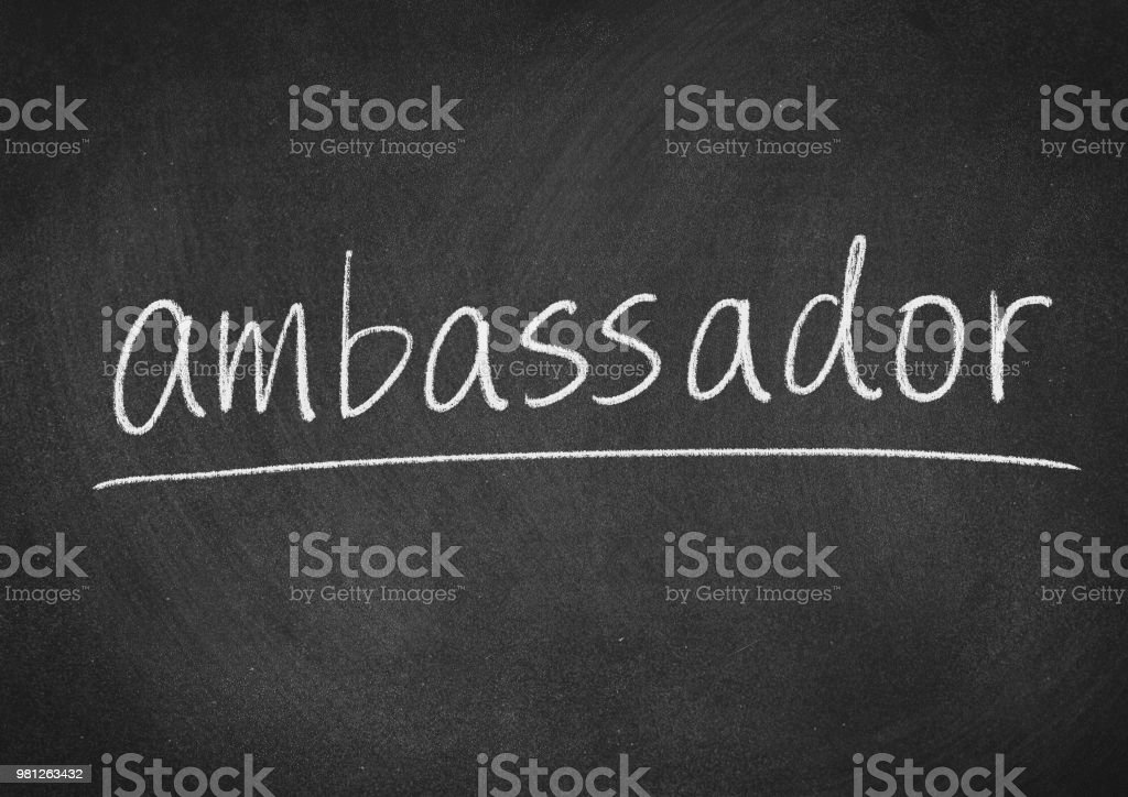 ambassador stock photo