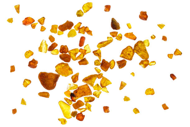 Amber abstract background stock photo