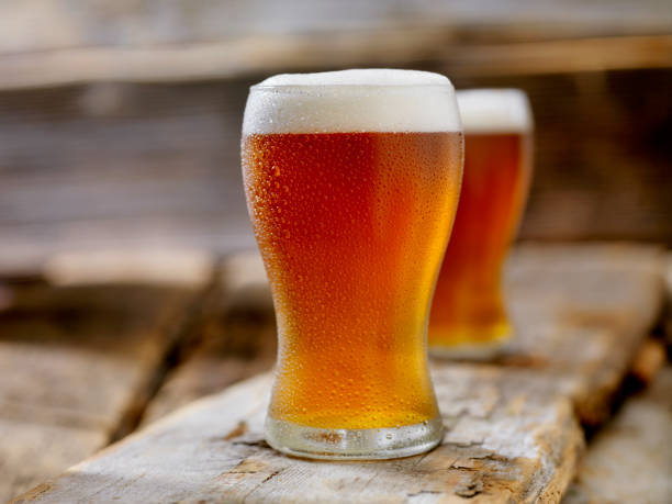 Amber Ale Amber Ale beer glass stock pictures, royalty-free photos & images