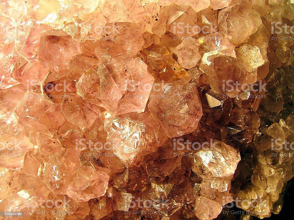 Amber Crystals stock photo