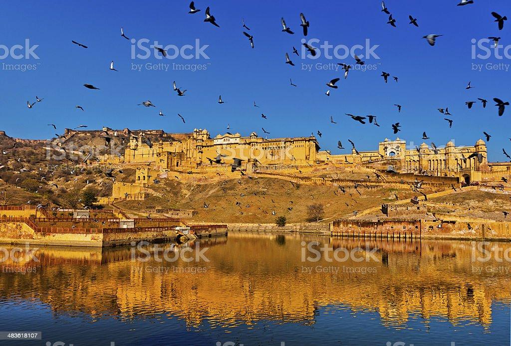 Amber Fort Jaipur, India stock photo