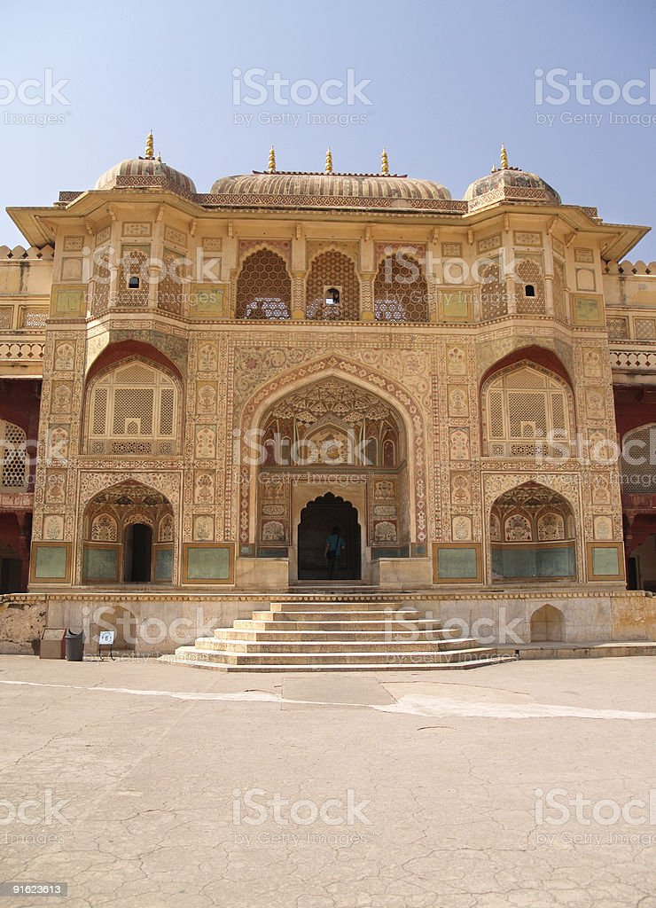 Amber Fort, Jaipur, India royalty-free stock photo