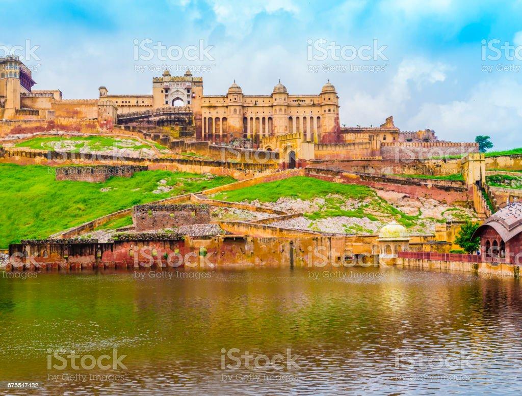 Amber Fort, Jaipur, Rajasthan, India stock photo