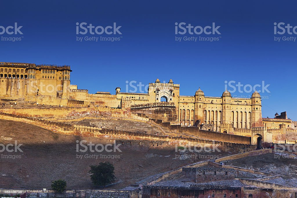 Amber Fort, Rajasthan, India stock photo