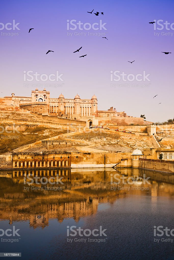 Amber Fort Rajasthan State India stock photo