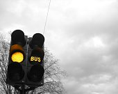 istock Amber light and amber bus light 466737586