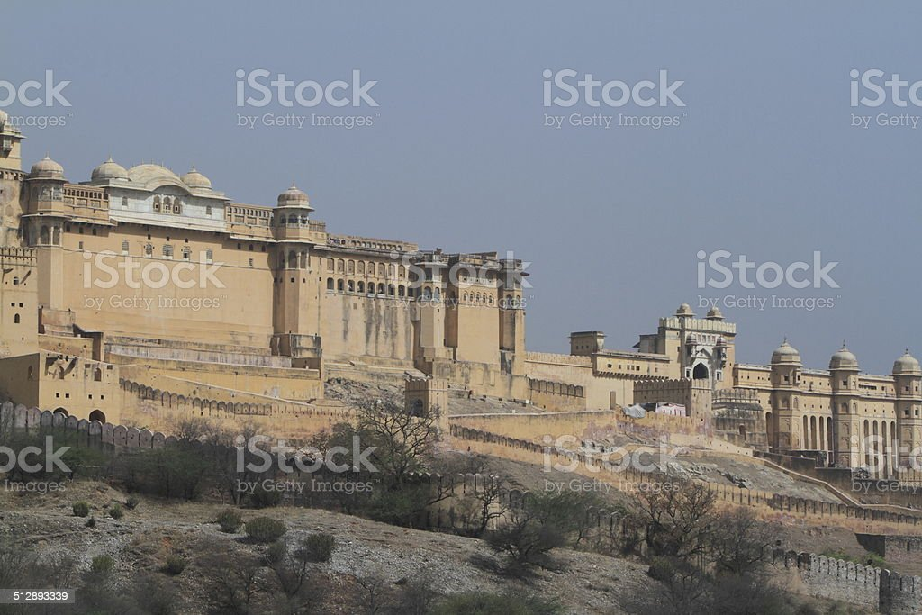 Amber Palace bei Jaipur in Indien stock photo