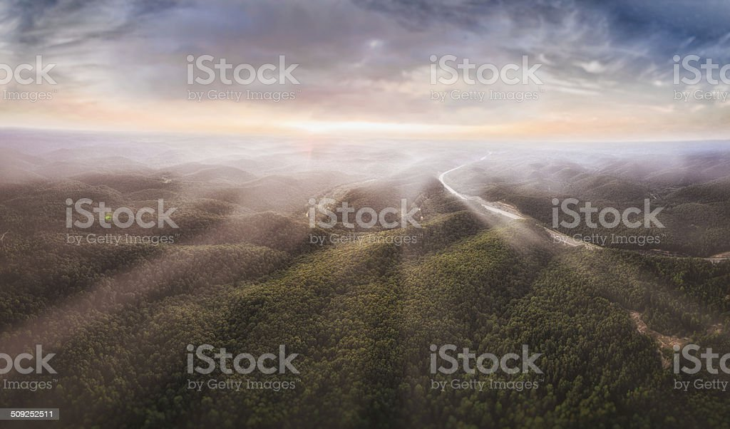 Ambient Sunrise stock photo