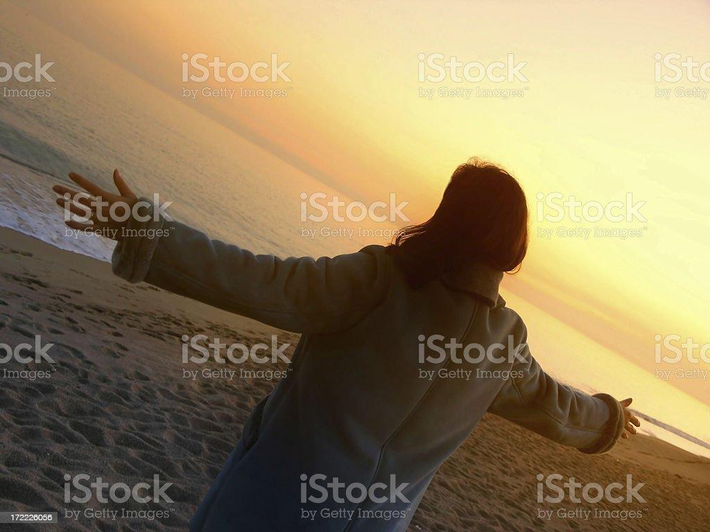 ambient zen: freedom royalty-free stock photo