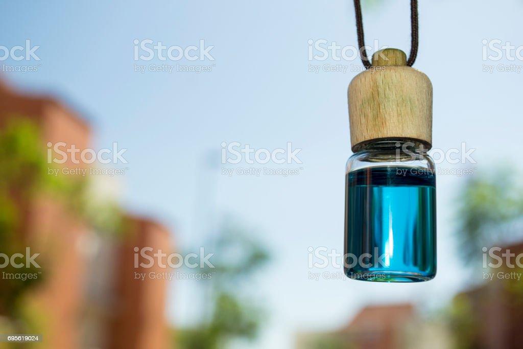 ambientador de coche stock photo