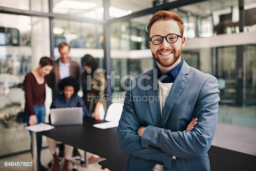 624700110istockphoto Ambitious teams are lead by ambitious managers 646457552