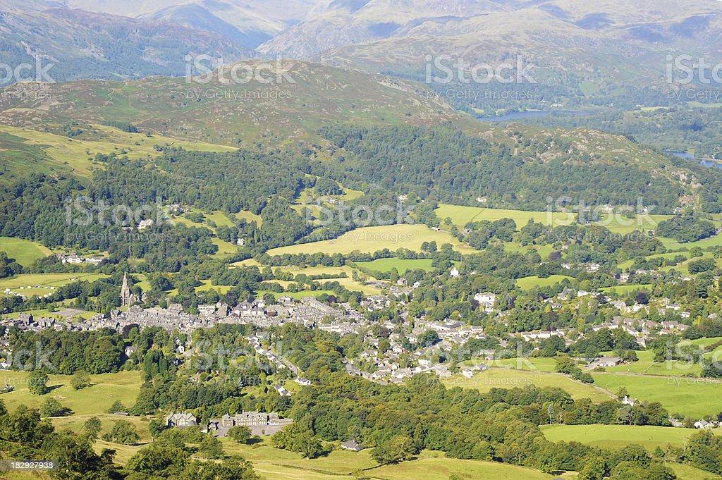 Ambleside Cumbria stock photo