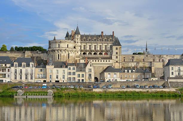 Amboise Castle stock photo