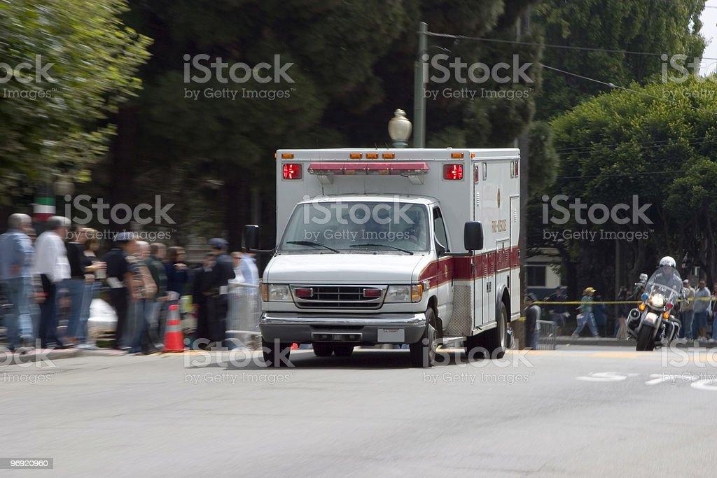 Ambulance 2 royalty-free stock photo
