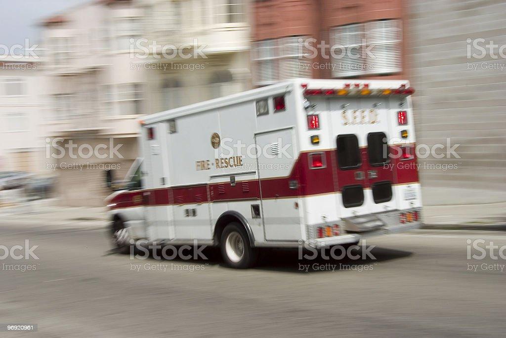 Ambulance 3 royalty-free stock photo