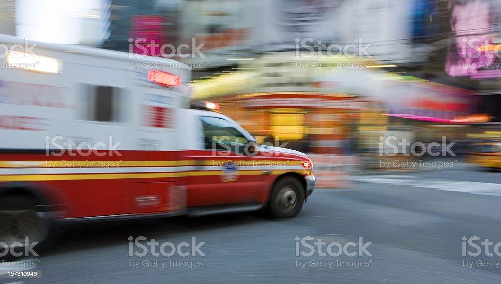 Ambulance Abstract stock photo