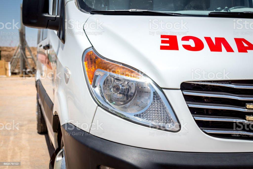 Ambulance Car stock photo