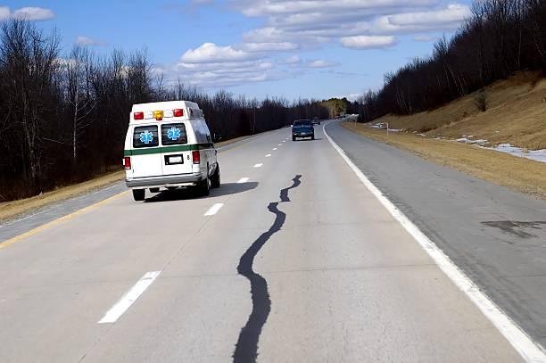 Ambulance chaser stock photo