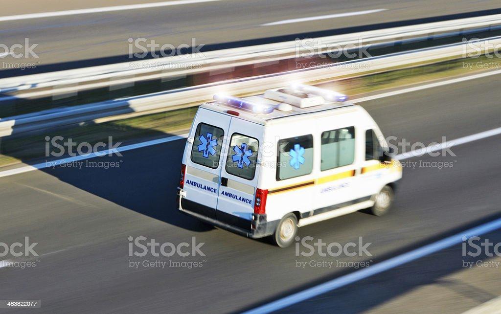 Ambulance Emergency stock photo