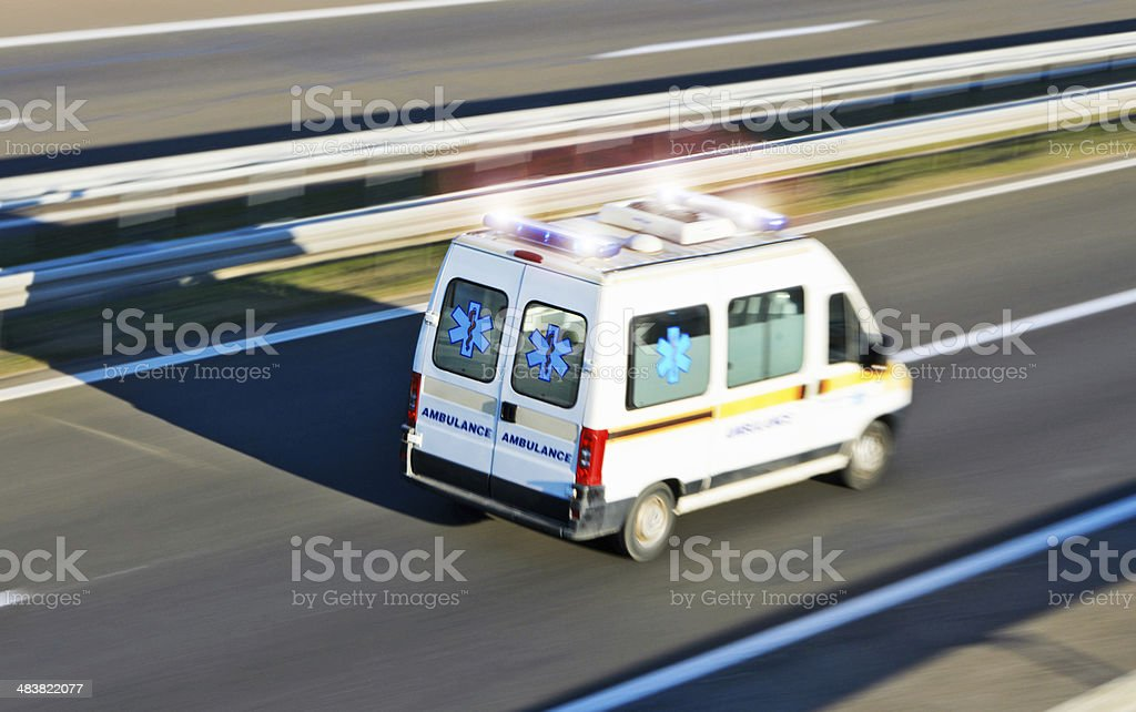 Ambulance d'urgence - Photo