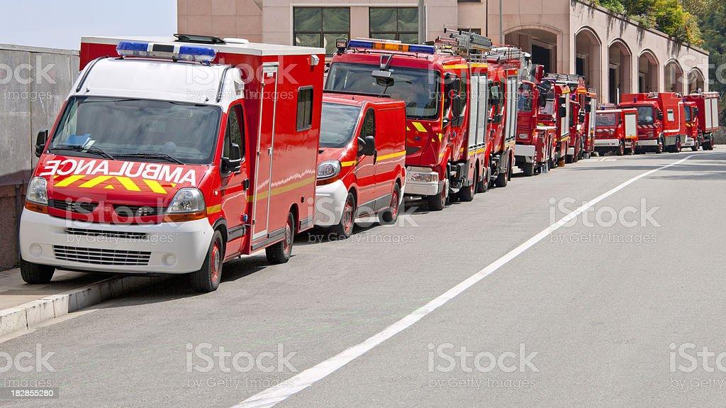 Ambulance & véhicules d'urgence - Photo