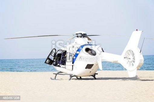 istock Ambulance helicopter 485487338