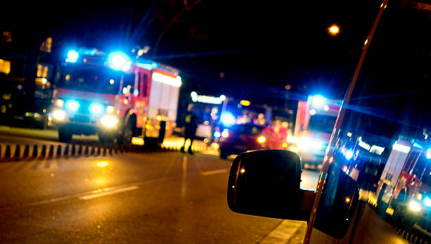 Rettungswagen in der – Foto