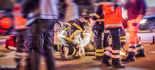 istock Ambulance in traffic 514152054