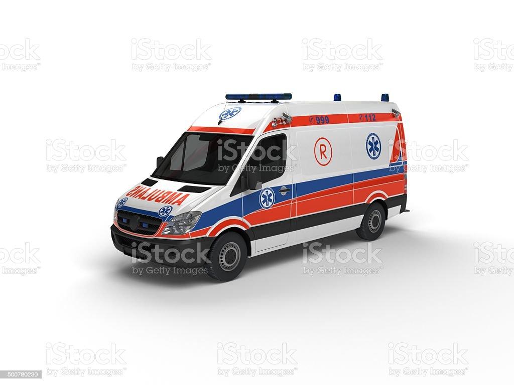 EU Ambulance(XXXXXL) stock photo