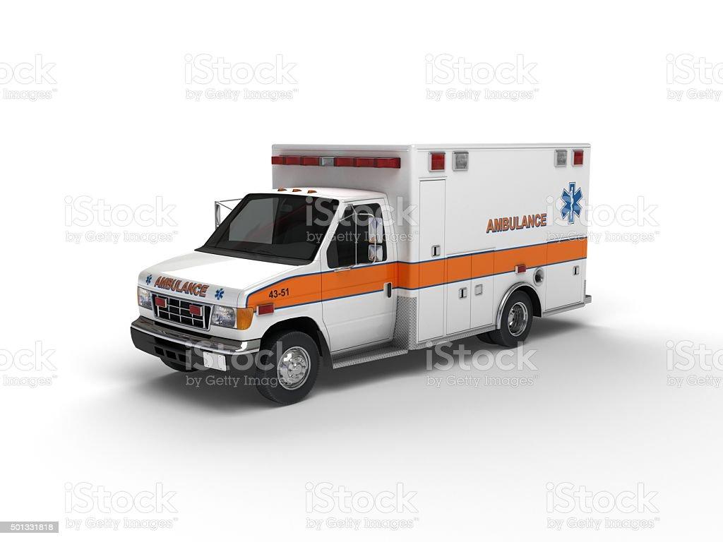 US Ambulance(XXXXXL) stock photo