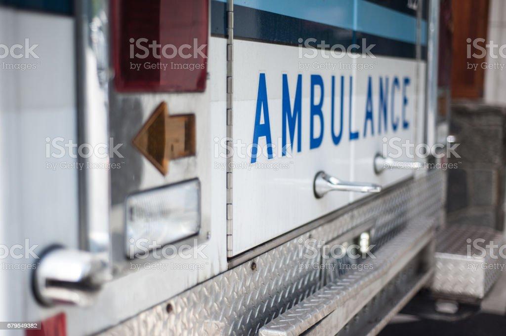 Ambulancia - foto de stock