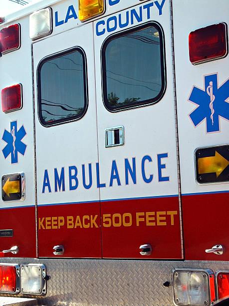 Ambulance stock photo