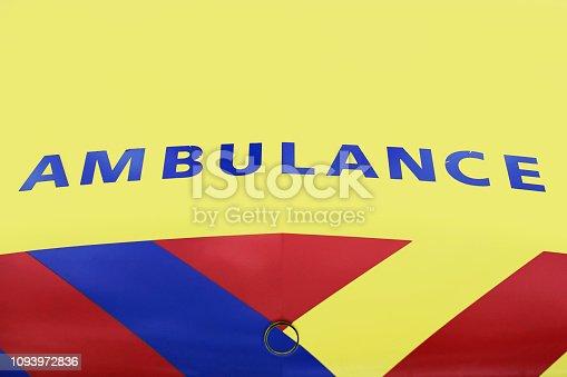 istock Ambulance Vehicle in Holland 3/3 1093972836