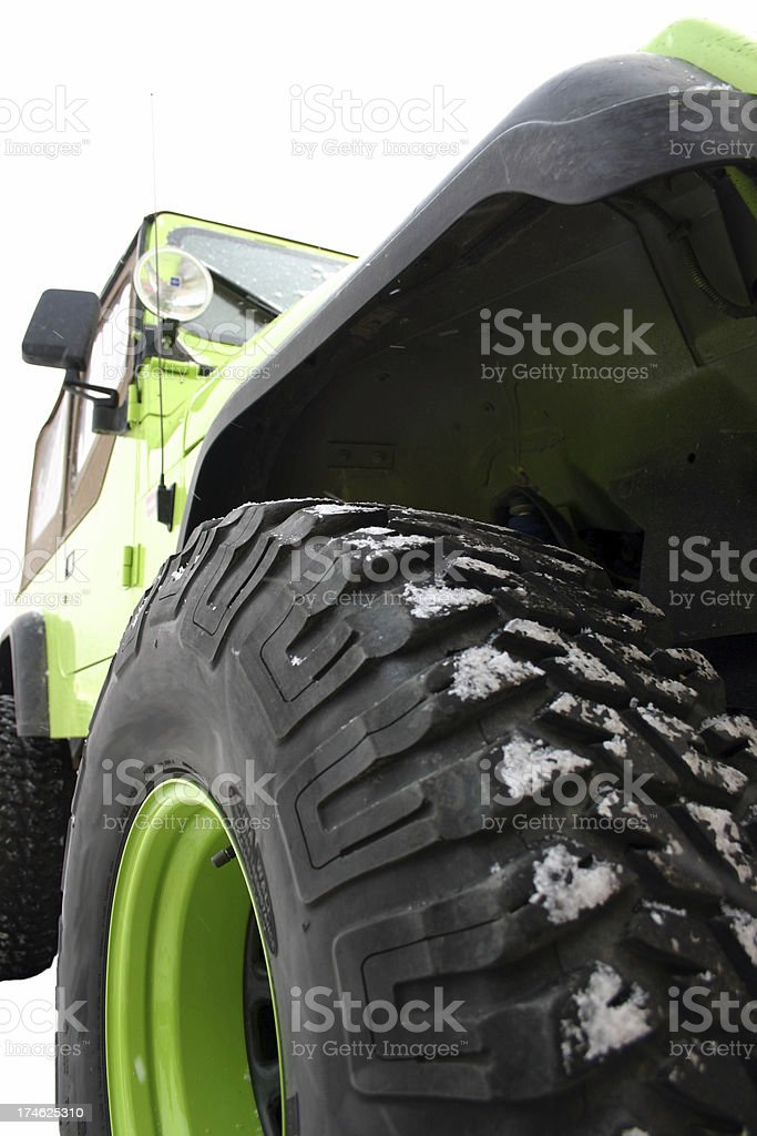 Amc Jeep Wrangler YJ stock photo