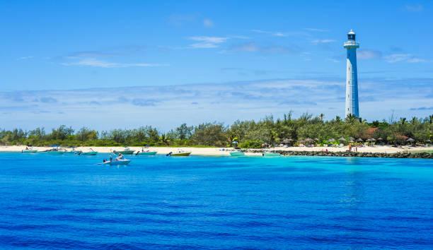 Amédée Island stock photo