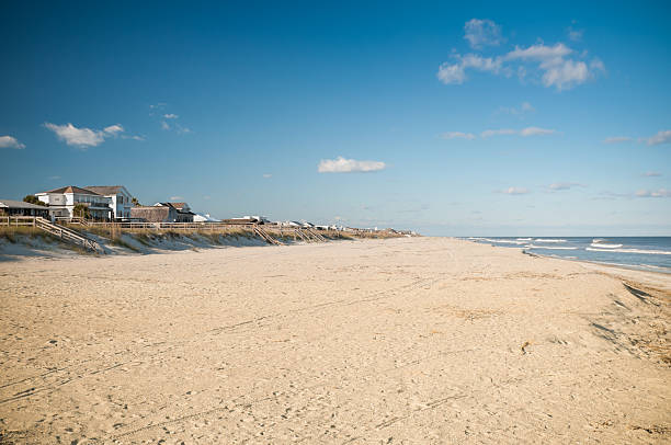 Amelia Island Beach in Florida, USA stock photo
