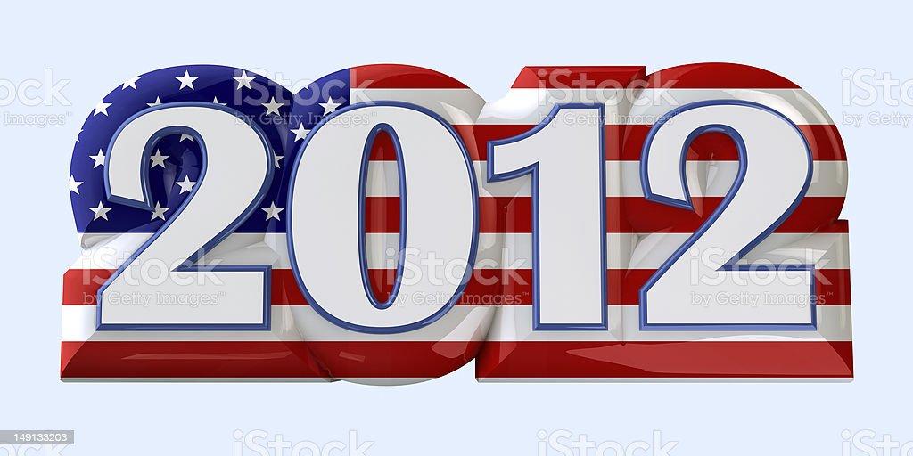 America 2012 royalty-free stock photo