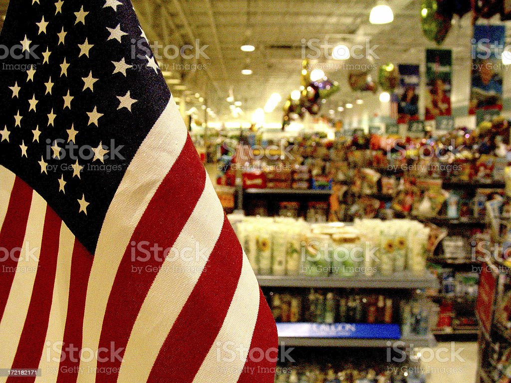 America For Sale royalty-free stock photo