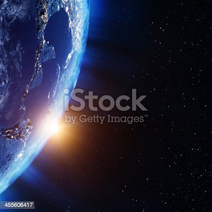 499002117istockphoto America from space 455606417