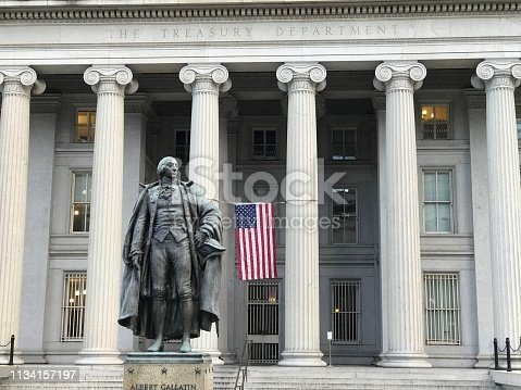 next White House at DC. Treasury Department Federal Credit Union.