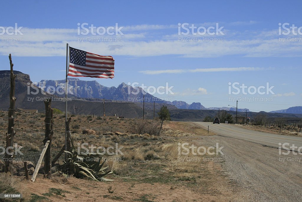 America Wild West royalty-free stock photo