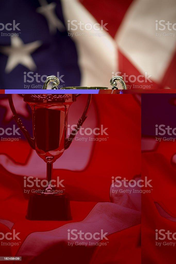 america wins royalty-free stock photo
