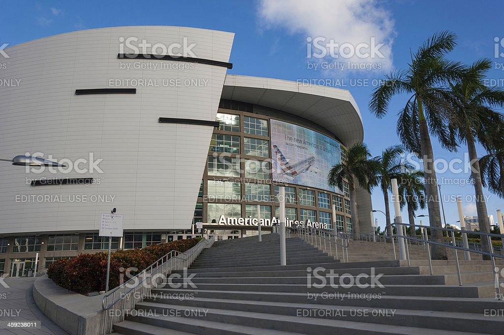 American Airlines Arena royalty-free stock photo