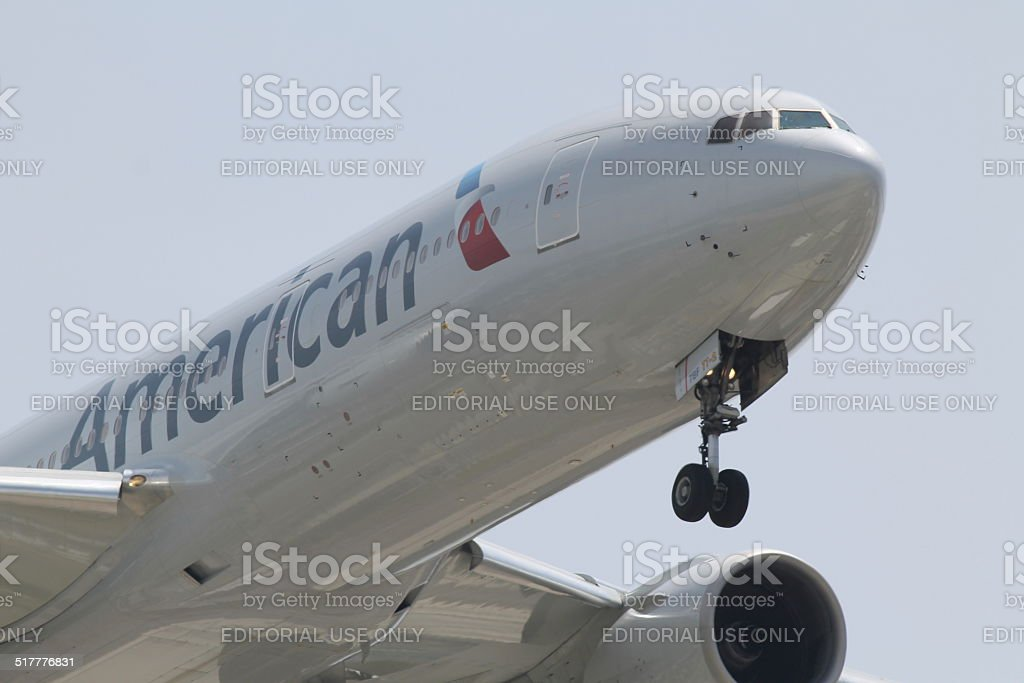 American Airlines stock photo